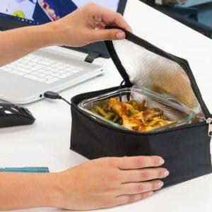 Ohřívací box na obědy s USB