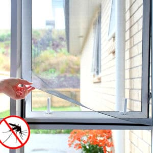 Nalepovací síť do oken proti komárům