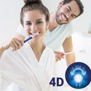 Zubní kartáček 4D (2 kusy)