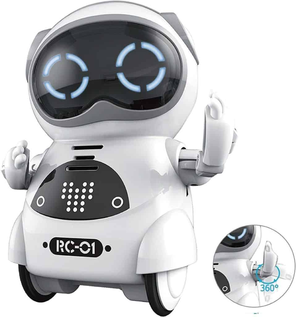 Vzdělávací kapesní mini robot