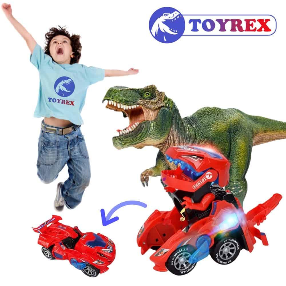 TOYREX® Dinosauří auto