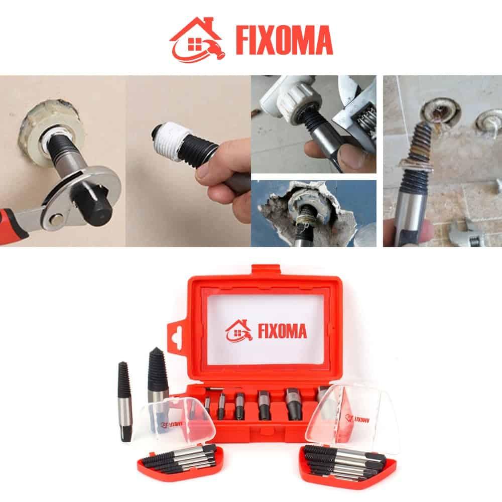 FIXOMA® Odstraňovač Šroubů - Sada na odstranění poškozených šroubů
